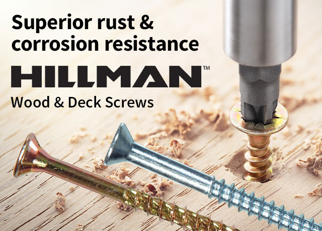 Hillman Wood/Deck Screws