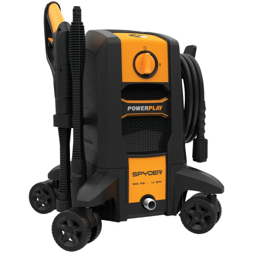 Powerplay Spyder 1800 psi 1.4 GPM Cold Water Electric Pressure Washer